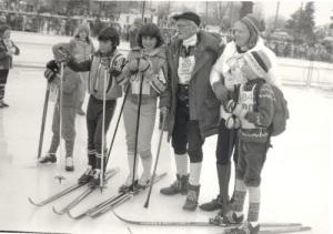 Jackrabbit Johanssen with some younger friends.